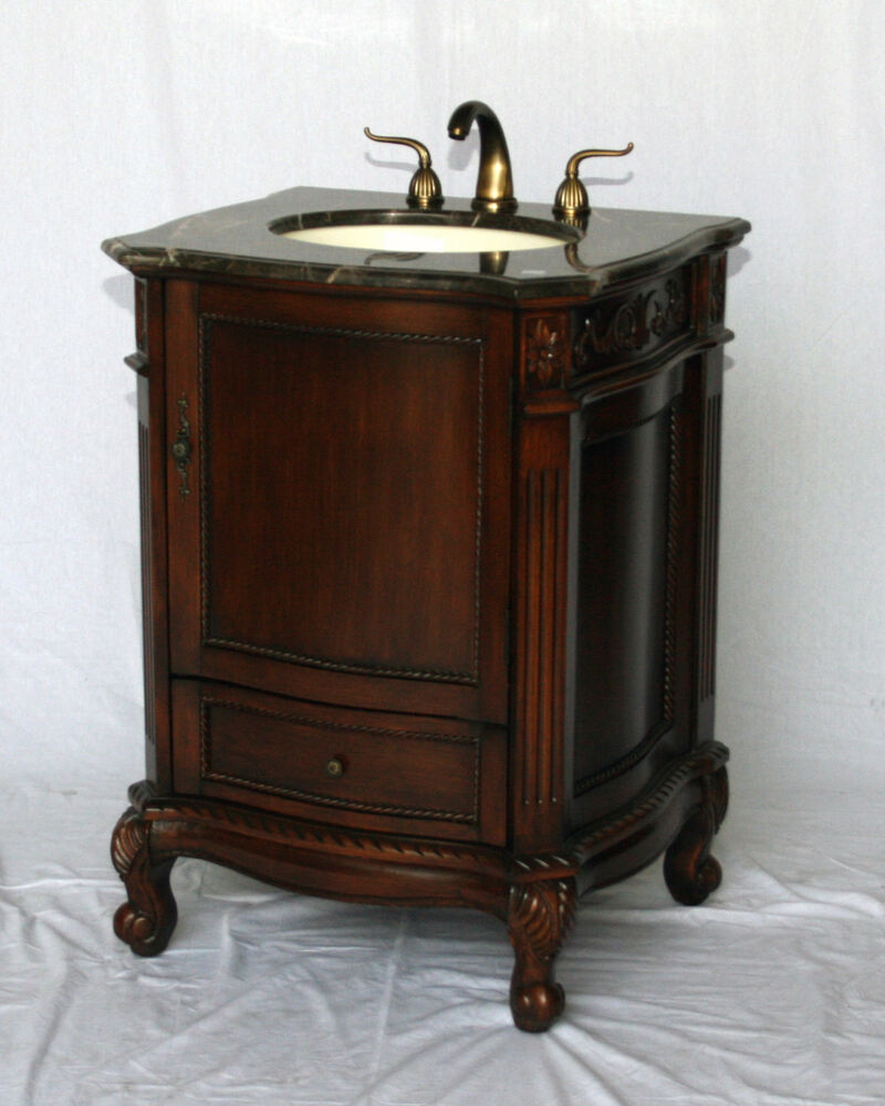 26 Inch Antique Style Single Sink Bathroom Vanity Model 2192 Mxc Ebay