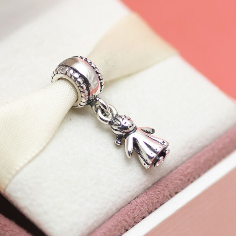 * New! Authentic Pandora Little Girl 790860 Daughter Charm ...
