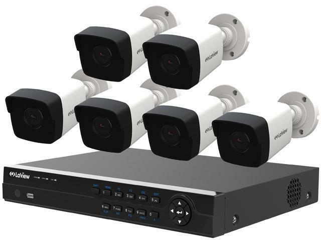 Laview Lv Knt984a42w4 4mp Zoom Hd 8 Channel Nvr Poe Ip