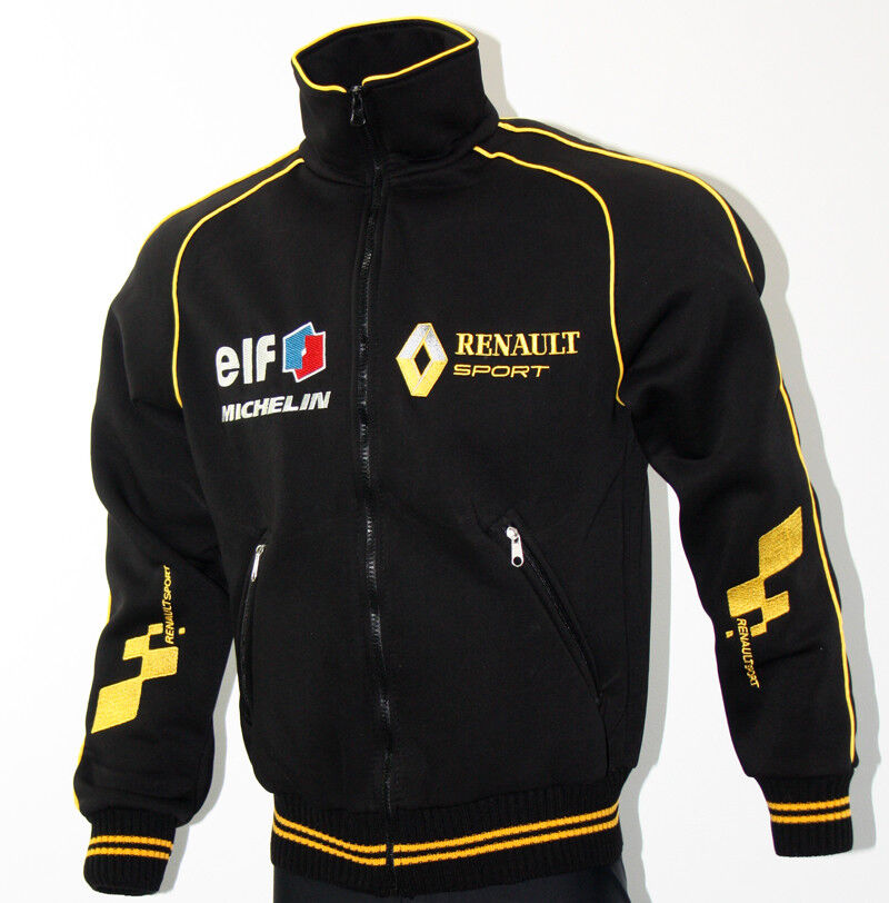 renault sport polar fleece jacket coat veste parka embroidered logos megane rs ebay. Black Bedroom Furniture Sets. Home Design Ideas