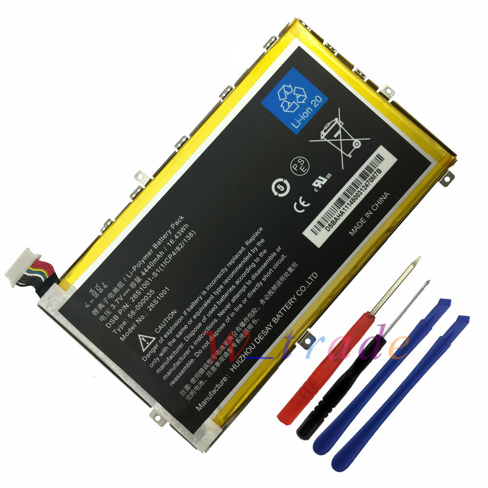 OEM Battery 26S1001 58-000035 For Amazon Kindle Fire HD 7