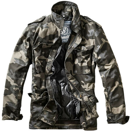 img-Brandit M-65 Standard Jacket Patrol Military Mens Coat Tactical Parka Dark Camo