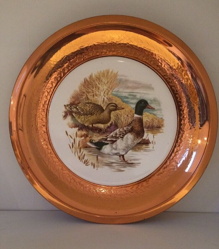 Vintage Metal Amp Ceramic Decorative Wall Plate Ebay