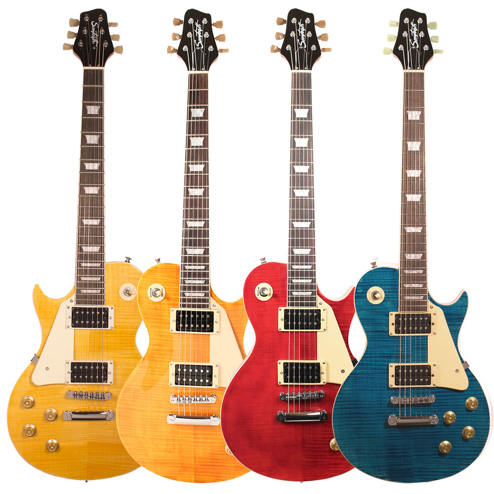 sawtooth heritage 58 series flame maple top electric guitars ebay. Black Bedroom Furniture Sets. Home Design Ideas