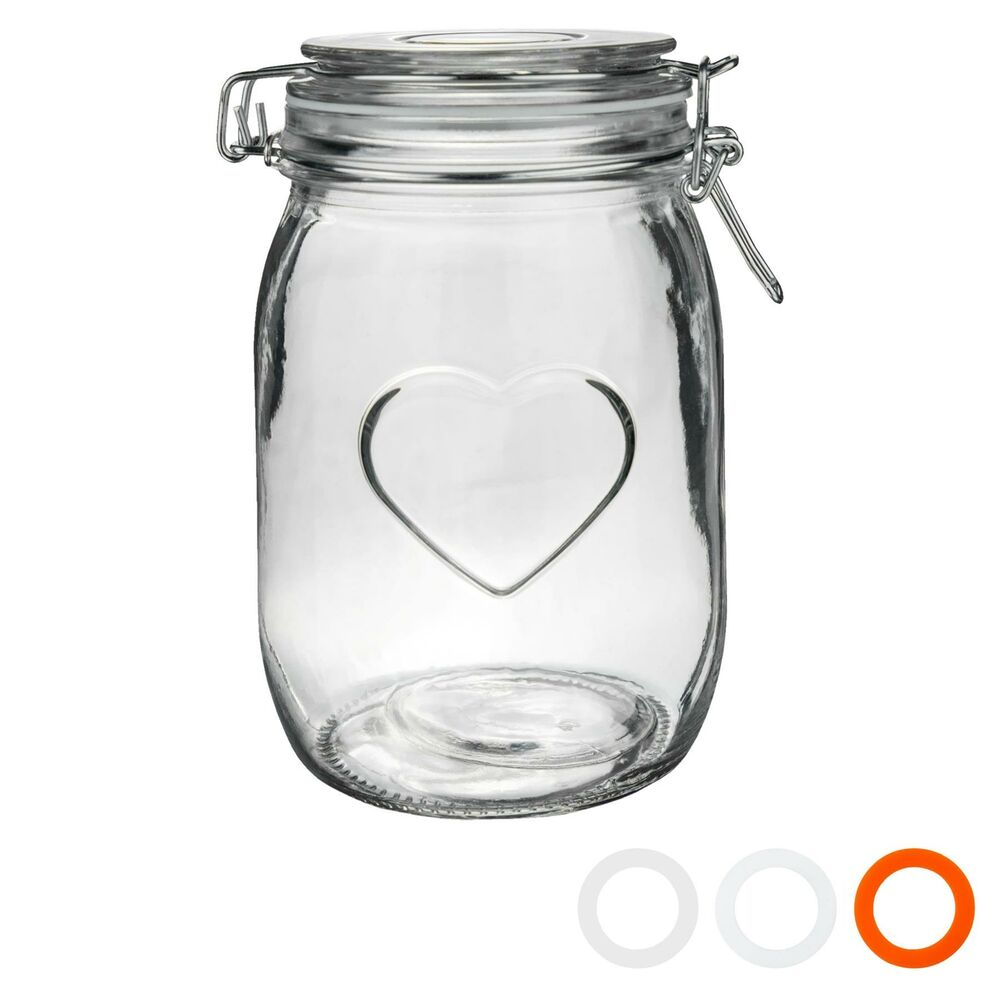 large glass kitchen storage jars design glass storage food preserve preserving jar 8889