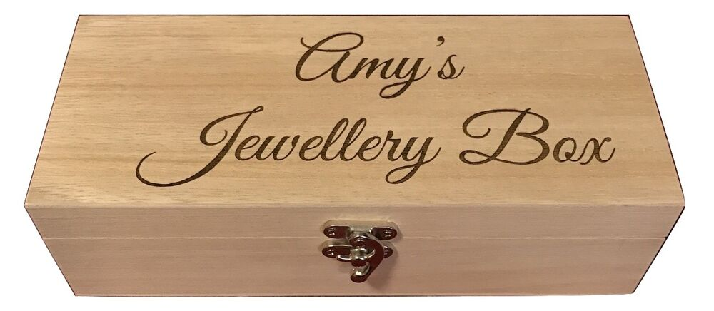 ... Engraved Wooden Compartment Trinket Wood Keepsake Box Wedding Gift
