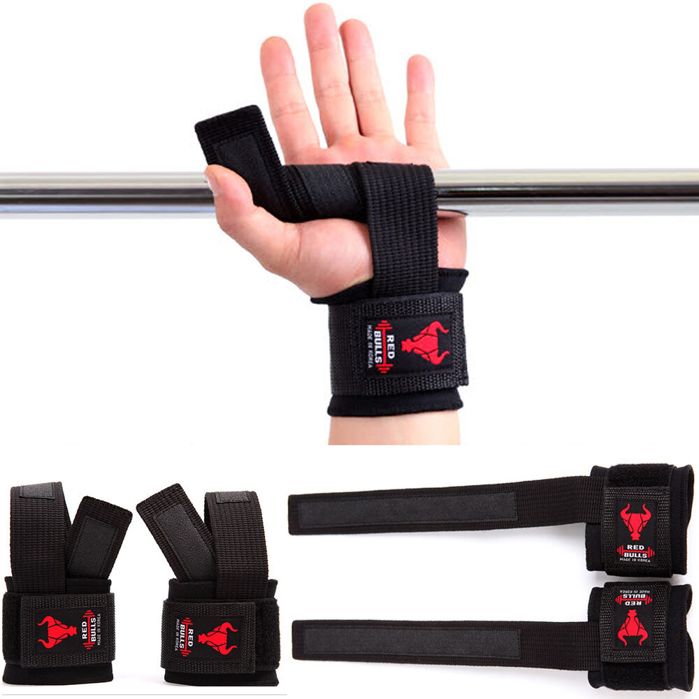 Rdx Leather Weight Lifting Grips Training Gym Straps: Wrist Weight Lifting Training Gym Wrist Guards Straps