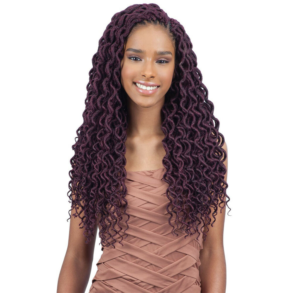 "2X SOFT CURLY FAUX LOC 18"" - FREETRESS SYNTHETIC CROCHET ...