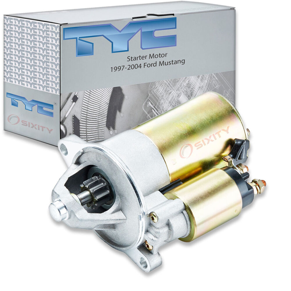 tyc starter motor 1997 2004 ford mustang 3 8l v6 xm ebay. Black Bedroom Furniture Sets. Home Design Ideas