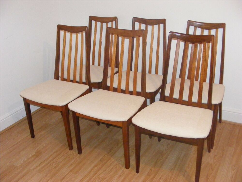 G plan vintage retro teak dining chairs price is per chair for G plan dining room chairs