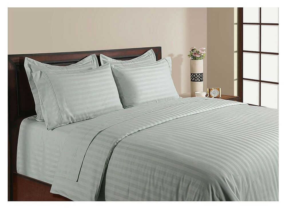 6 pce hotel luxury collection 1000tc egyptian cotton 50cm for Luxury hotel 750 collection sheets