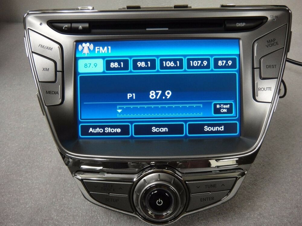 2013 Elantra Limited Navigation wiring diagram - Hyundai ...