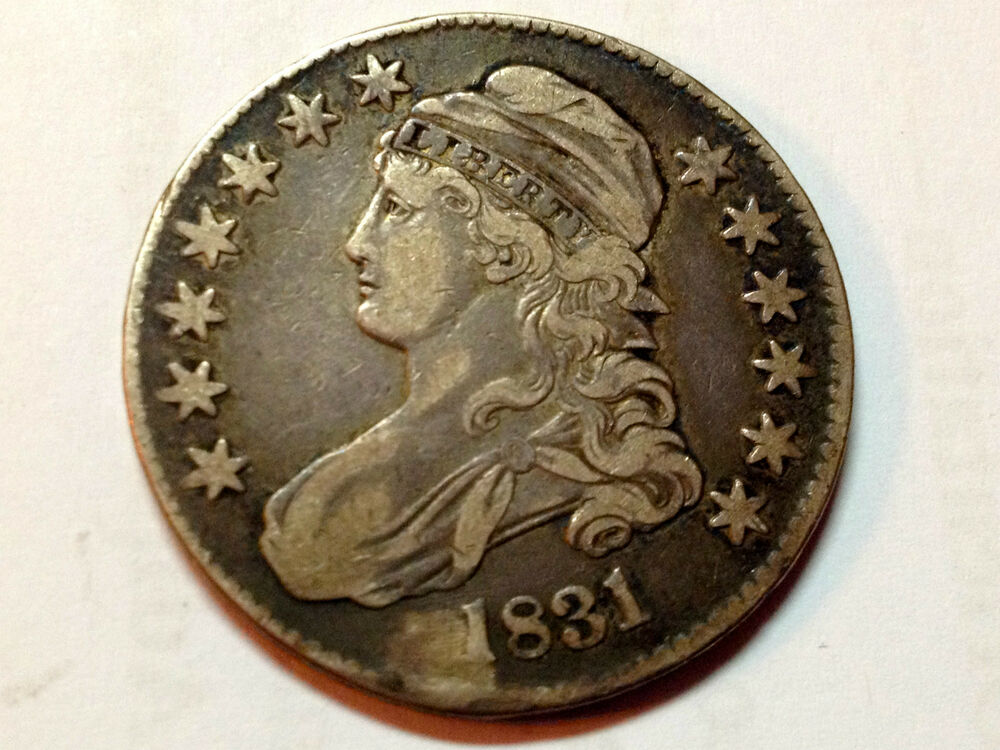 1831 Silver Bust Half Dollar From Old Type Set Ebay