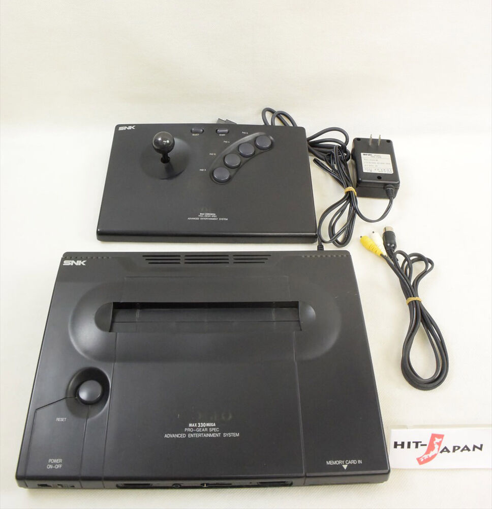 NEO GEO AES Console System Ref/056932 Working Tested JAPAN