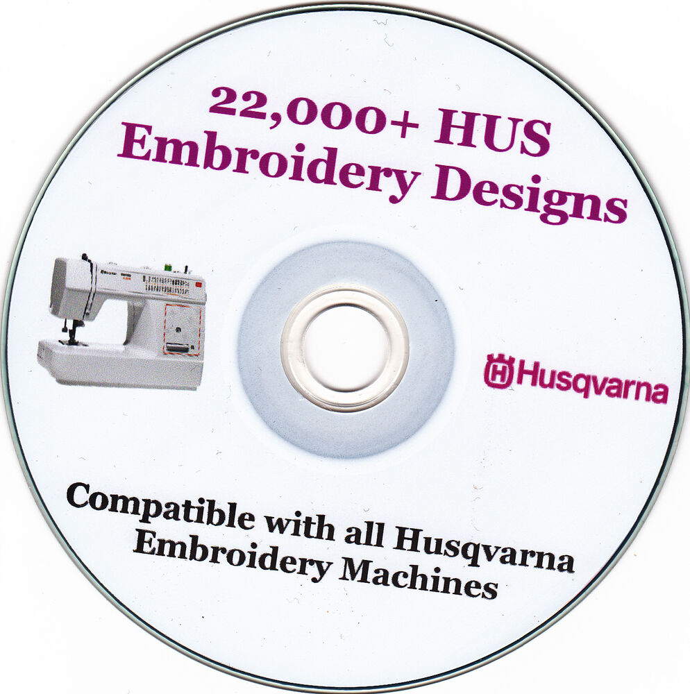 Husqvarna machine embroidery designs hus format full