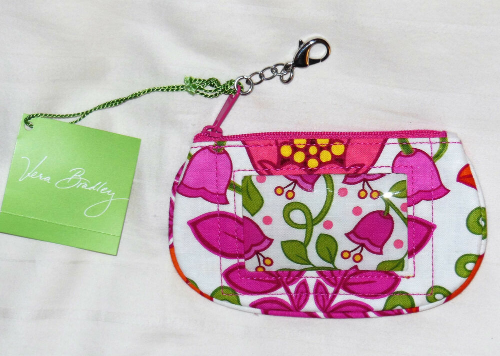 New withTags VERA BRADLEY CLIP ZIP ID in LILLI BELL 10336-142 ...
