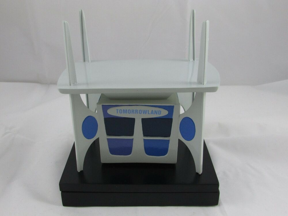 disneyland 50th tomorrowland 1967 ticket booth trinket box with pin le 1500 ebay. Black Bedroom Furniture Sets. Home Design Ideas
