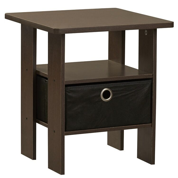 small end table home office living room accent side sofa stand w shelf furniture ebay. Black Bedroom Furniture Sets. Home Design Ideas
