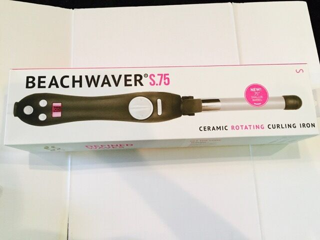 Sarah Potempa The Beachwaver S 75 Ceramic Rotating Curling