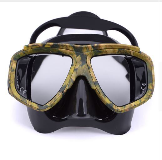 Silicone Scuba Diving Mask Spearfishing Glass Commercial