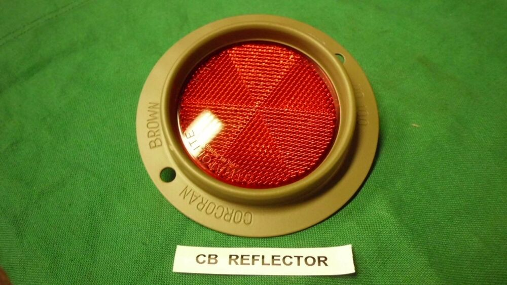 Jeep Willys Mb Standard Corcoran Brown Reflector New Cb