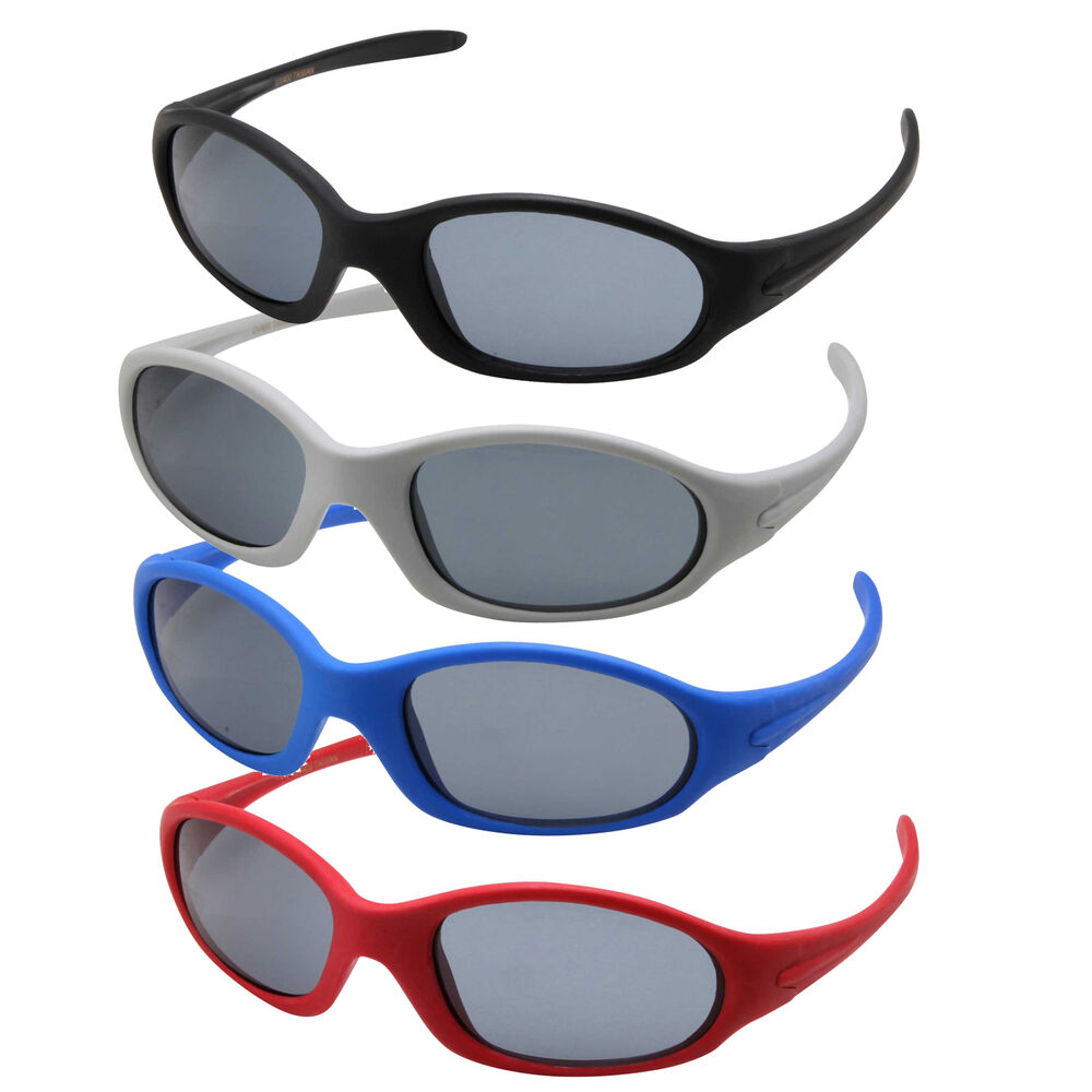 Children 3-10 Kids Sunglasses For Boys Baseball Cycling ...