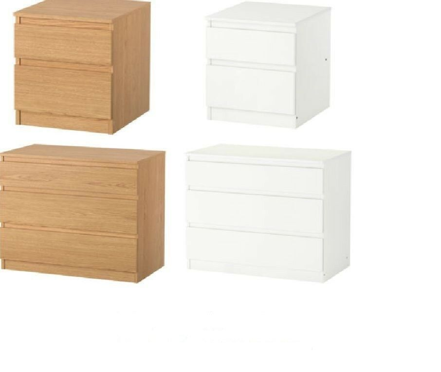 Ikea KULLEN 2 3 5 Chest Of Drawers Bedroom Furniture Storage Drawers