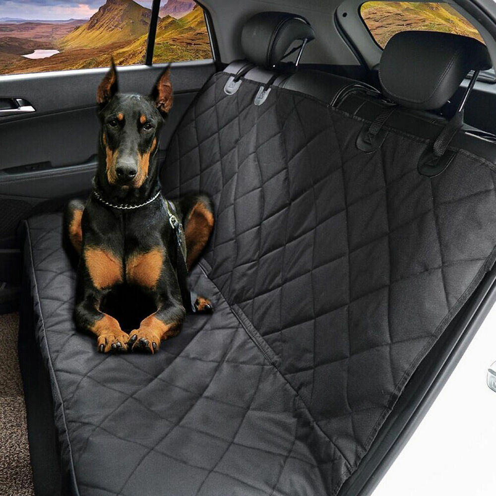 Car Seat Protector For Dogs >> Waterproof Car SUV Van Rear Back Seat Pet Dog Cover ...
