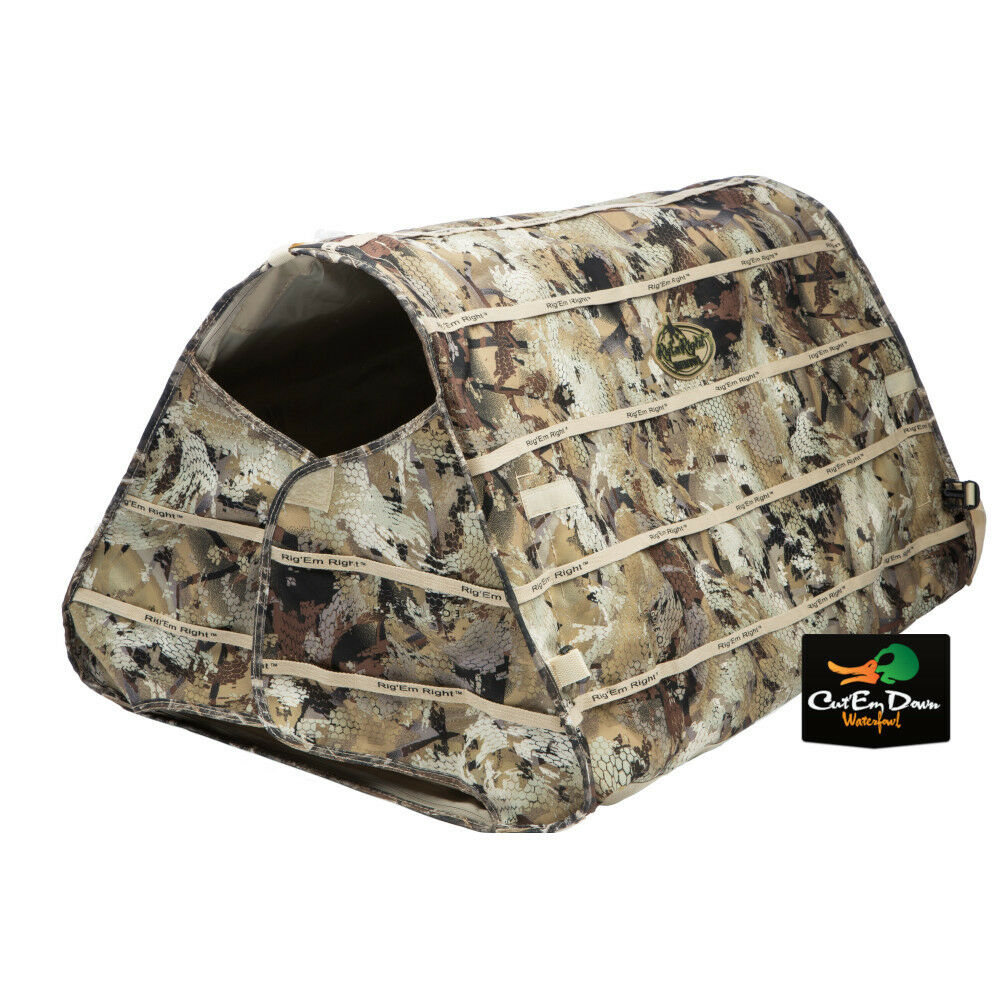 Rig Em Right Waterfowl Field Bully Dog Blind Max 5 Camo