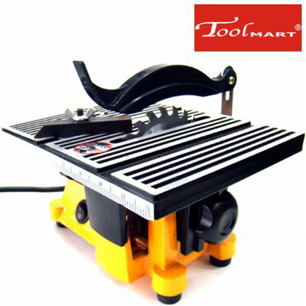 4 Mini Electric Table Saw Bench Top Great For Hobby Or Craft Ships Boat 220 230v Ebay