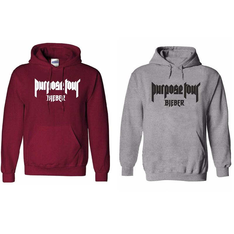 justin bieber purpose the world tour hoodie sweatshirt. Black Bedroom Furniture Sets. Home Design Ideas