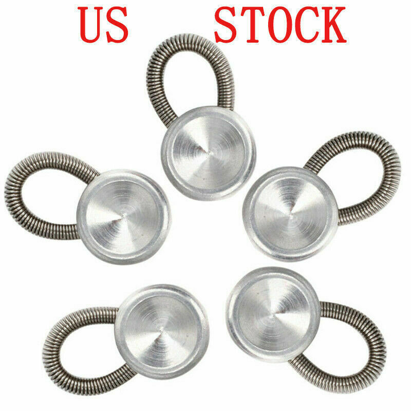 Set of 5 Collar Button Extenders Expanders with Flexible ...