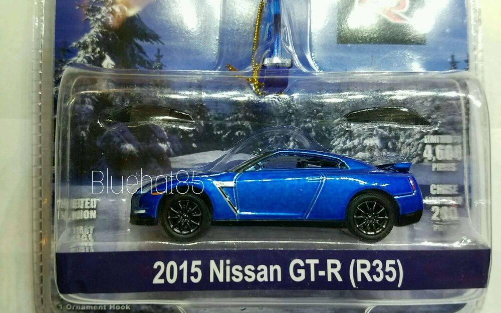 Greenlight MiJo Exclusive Holiday Ornament 2015 Nissan GTR R35 ...