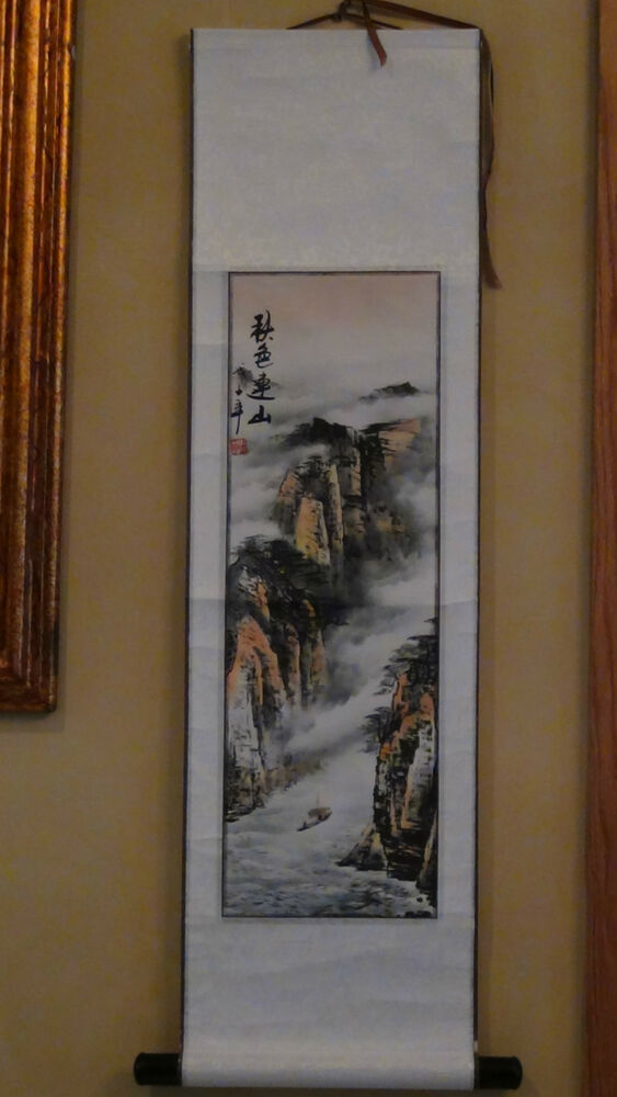 Antique painting traditional Chinese Shi Tao Spring
