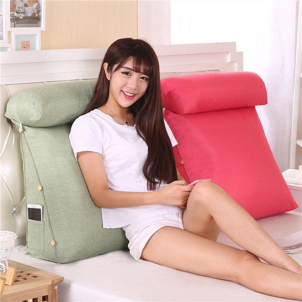 Adjustable Sofa Bed Chair Rest Neck Support Back Wedge