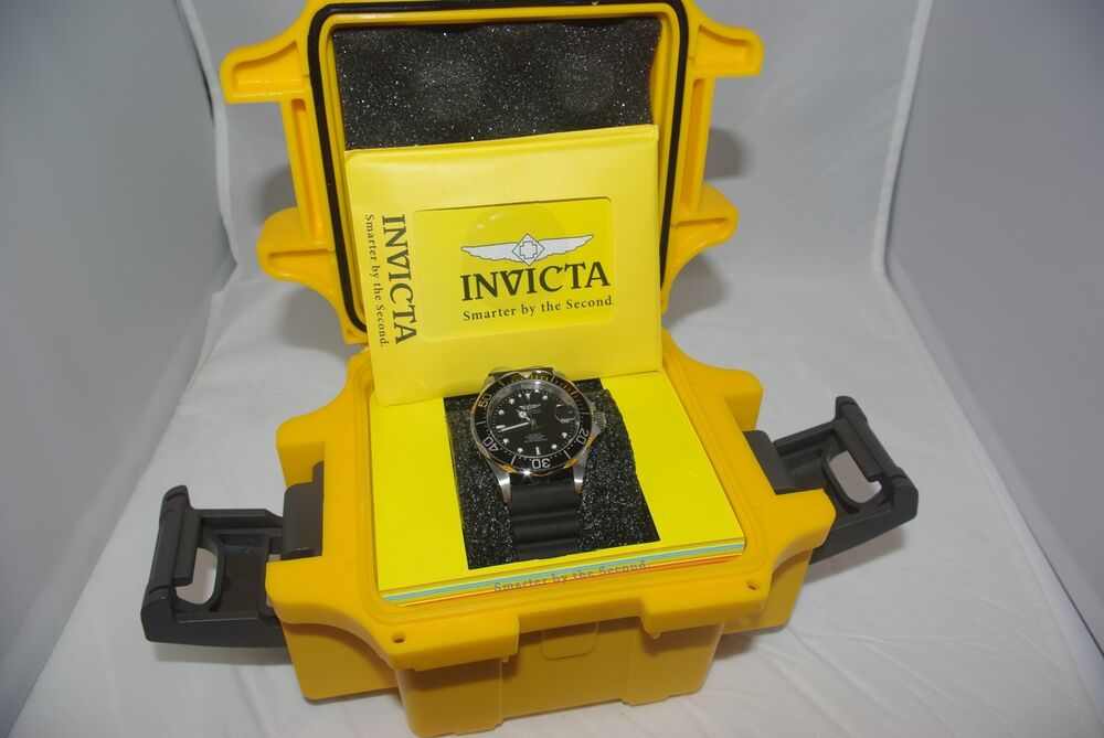 Invicta pro diver 9110syb sii nh35a automatic 40mm case diameter ebay for Bulltoro watches