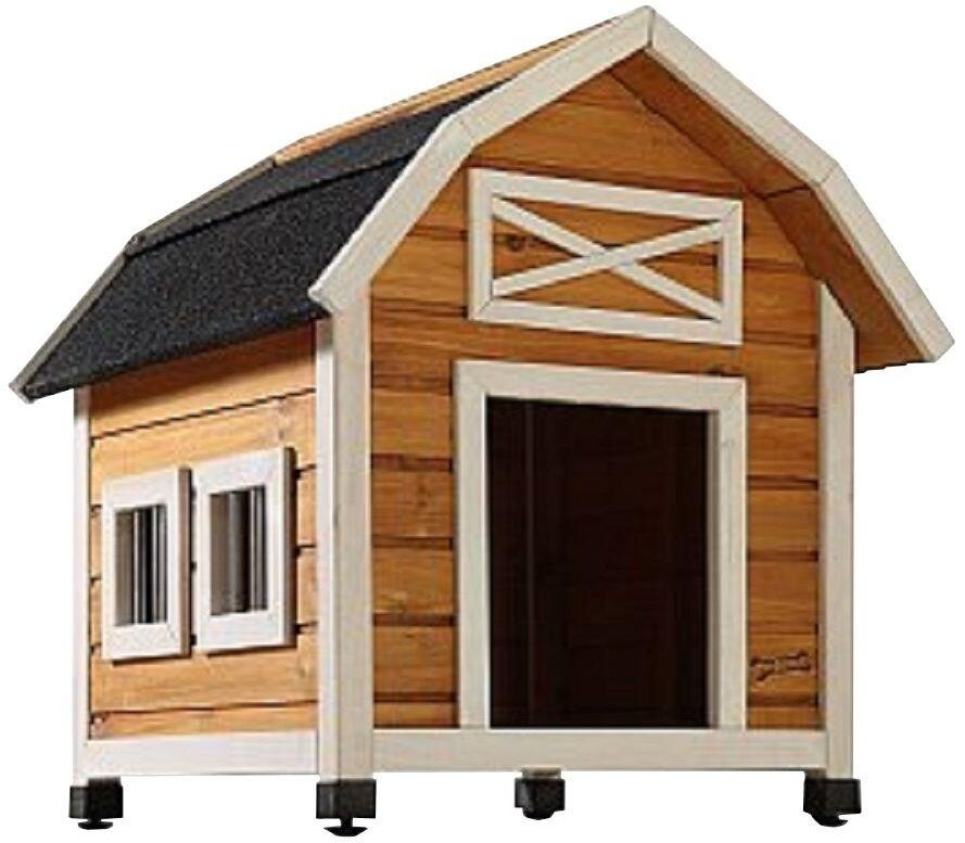 Rugged Large Dog House: Dog House Outdoor Small/Med Indoor Durable Doghouse