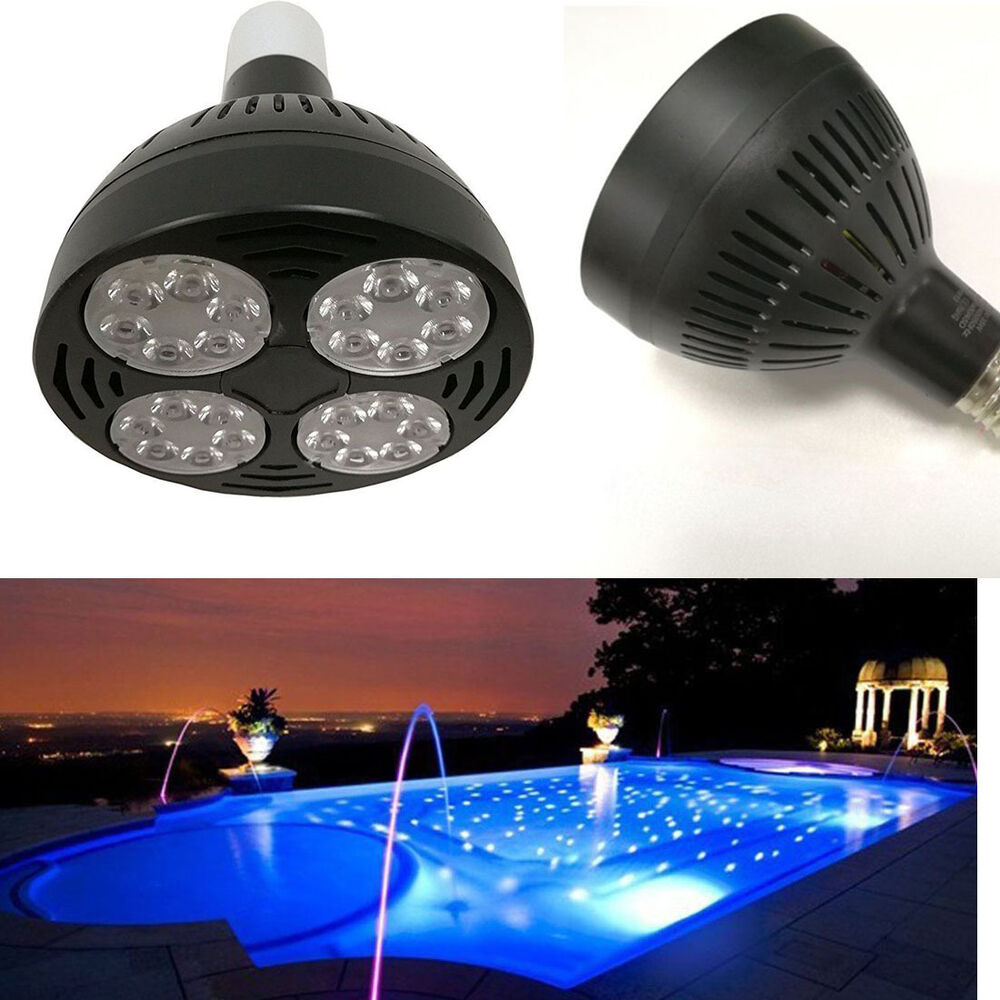 Swimming Pool Replacement Light Fixture : V w k daylight swimming pool led light