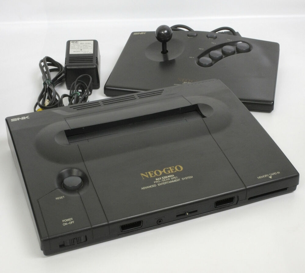 NEO GEO AES Console System Ref/72830 5 Digits Tested JAPAN