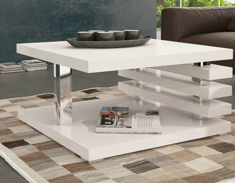 White square coffee table storage wood living room small for Square wood coffee table with storage