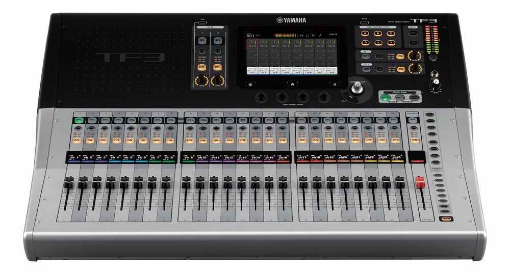 yamaha tf3 24 input digital mixer w 48 mixing channels 25 motorized faders 86792992891 ebay. Black Bedroom Furniture Sets. Home Design Ideas