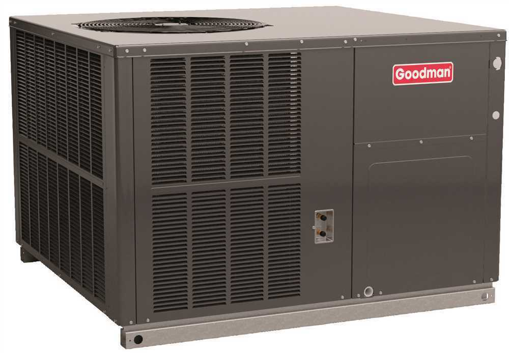 Goodman 14 Seer Packaged Gas Electric Unit 3 Ton Cooling