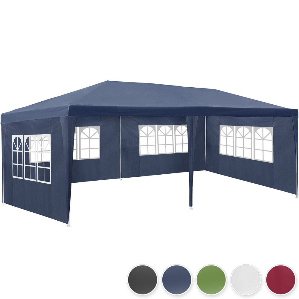 pavillon 3x6 m partyzelt gartenzelt festzelt zelt gartenpavillon bierzelt ebay. Black Bedroom Furniture Sets. Home Design Ideas