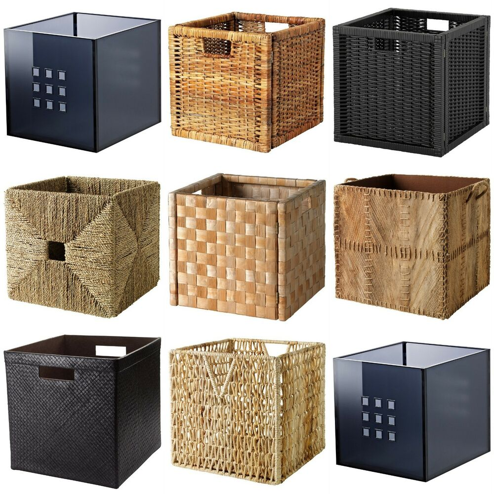 1000 Images About Ikea Kallax Ikea Expedit: Baskets Dimensioned To Fit EXPEDIT/KALLAX