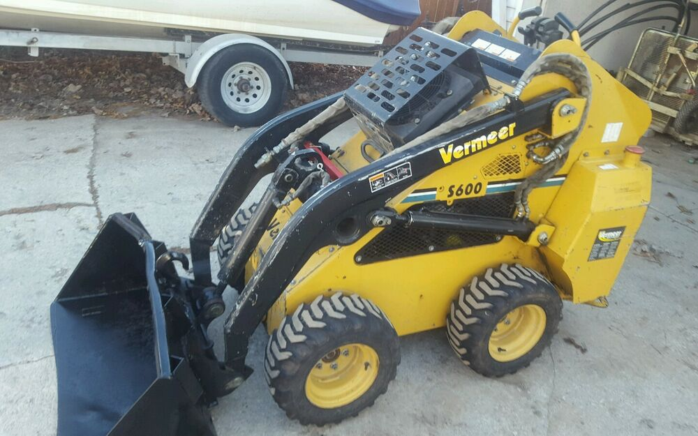Mini Skid Steer : Vermeer s mini skid steers loader compact wheel