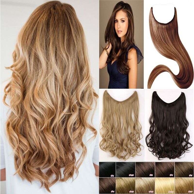"20""/51cm Synthetic Secret Wire in Hair Extensions ..."