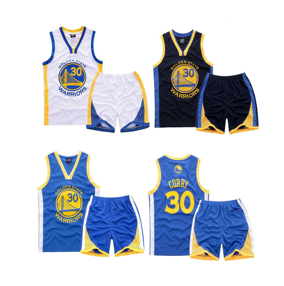 STEPH STEPHEN CURRY #30 KIDS BOYS YOUTH BASKETBALL JERSEY ...