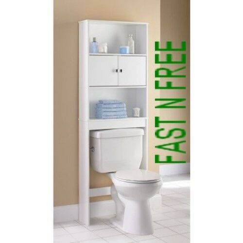 Bathroom Over Toilet Rack : The original over toilet space saver storage bathroom