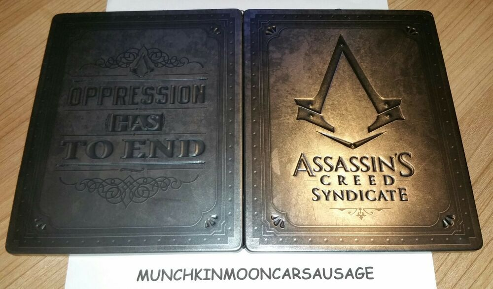 nouveau assassins creed syndicate big ben steelbook no jeu ps4 xbox one g2 t ebay. Black Bedroom Furniture Sets. Home Design Ideas