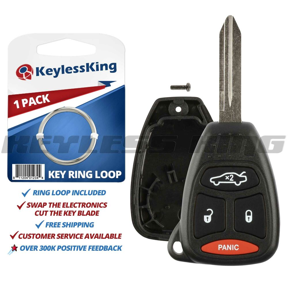 Replacement Remote Key Fob Shell Pad Case For 2005 2006